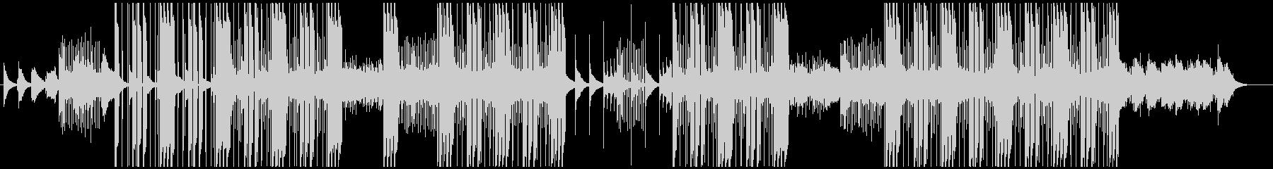 和(琴)とトラップビートの融合の未再生の波形
