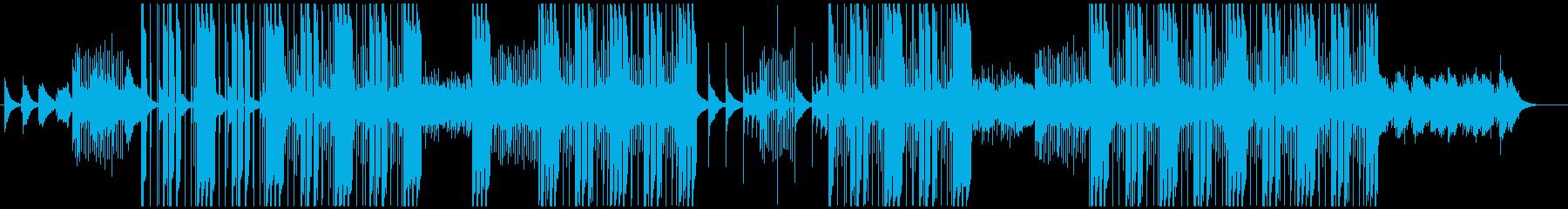 和(琴)とトラップビートの融合の再生済みの波形