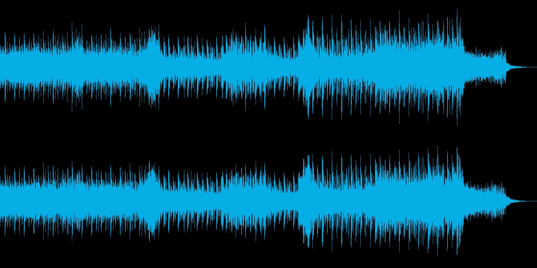 銃撃戦をイメージしたカッコいい曲です。の再生済みの波形