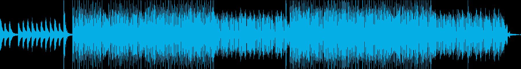 ジャジーでブルージーなLoFiビートの再生済みの波形