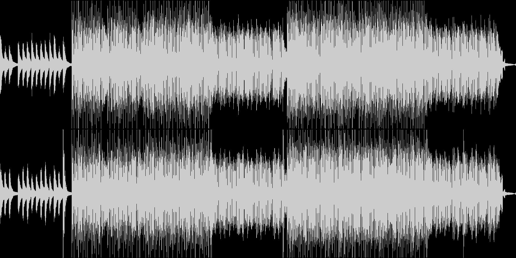 ジャジーでブルージーなLoFiビートの未再生の波形