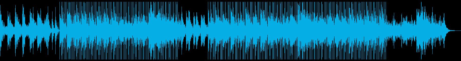 Lofi ノスタルジック 古いオルゴールの再生済みの波形
