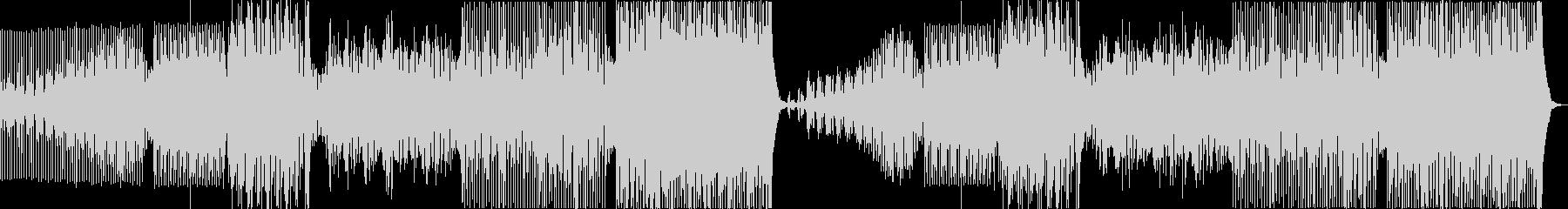 シンセベースを使ったロックなEDMの未再生の波形