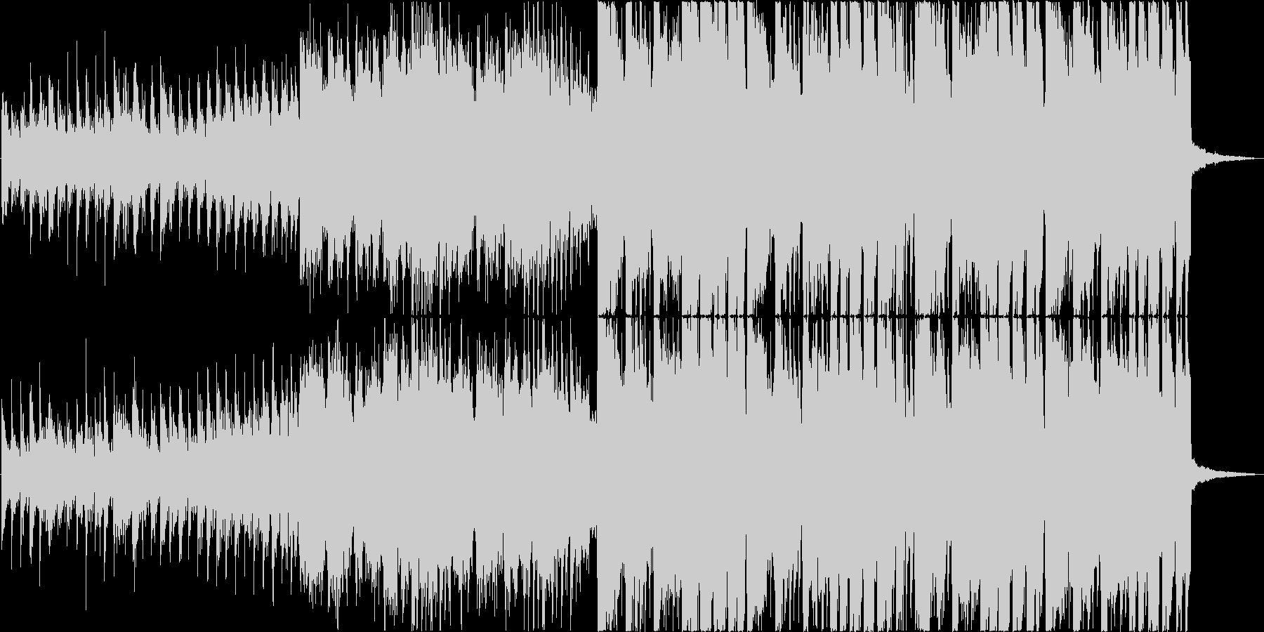 Kawaii FutubassなBGMの未再生の波形