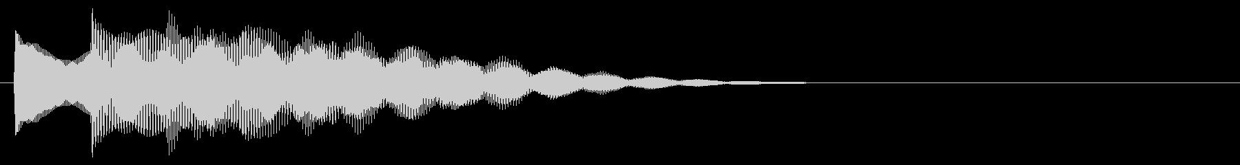 マレット系 決定音12(長三和音)の未再生の波形
