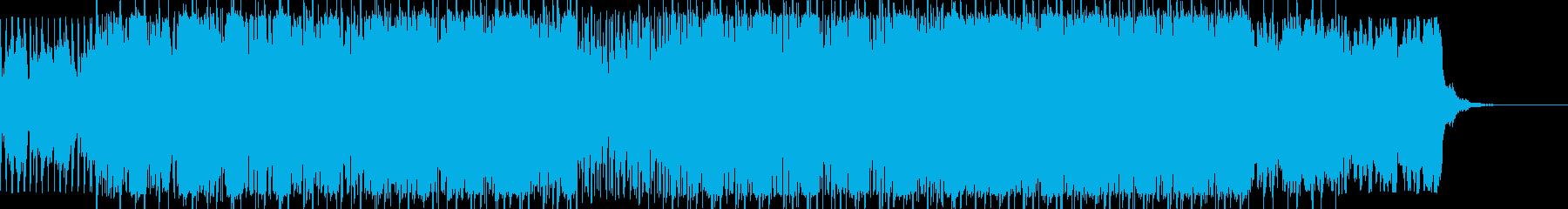 疾走感あるスリリングでシネマティックな曲の再生済みの波形
