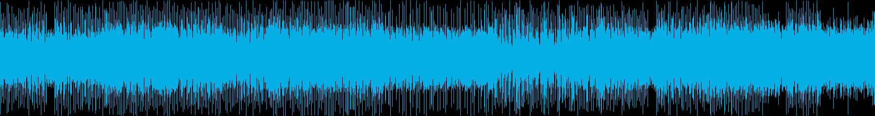 ★緊迫感のあるクールなEDMの再生済みの波形