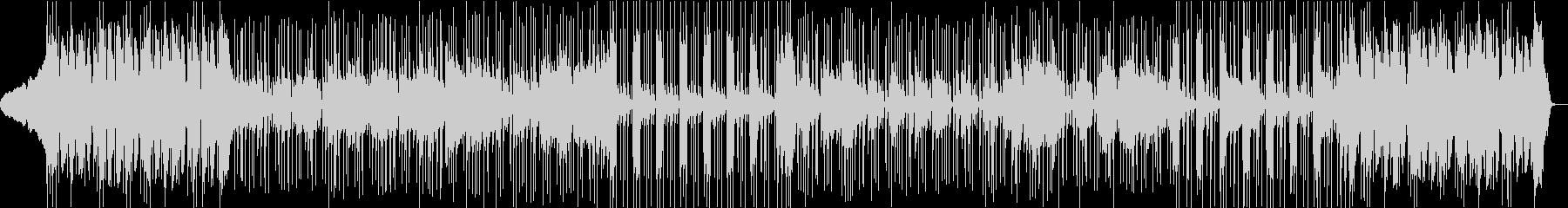 イントロで盛り上がるファンクロックの未再生の波形