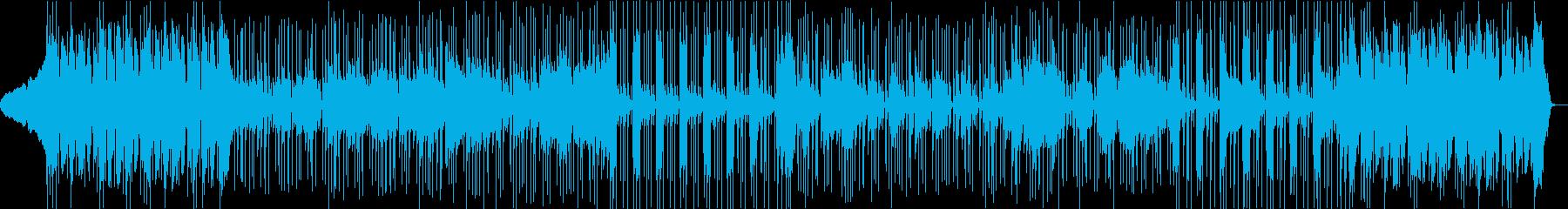 イントロで盛り上がるファンクロックの再生済みの波形