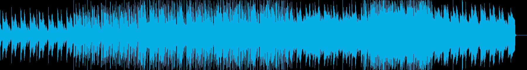 懐かしい感じのエレクトロポップの再生済みの波形