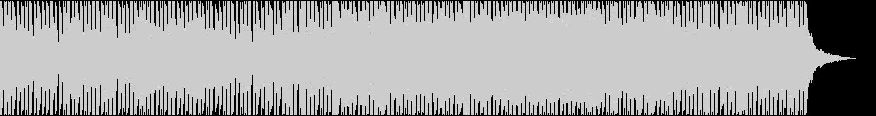 シュールで大人っぽいテクノサウンドの未再生の波形