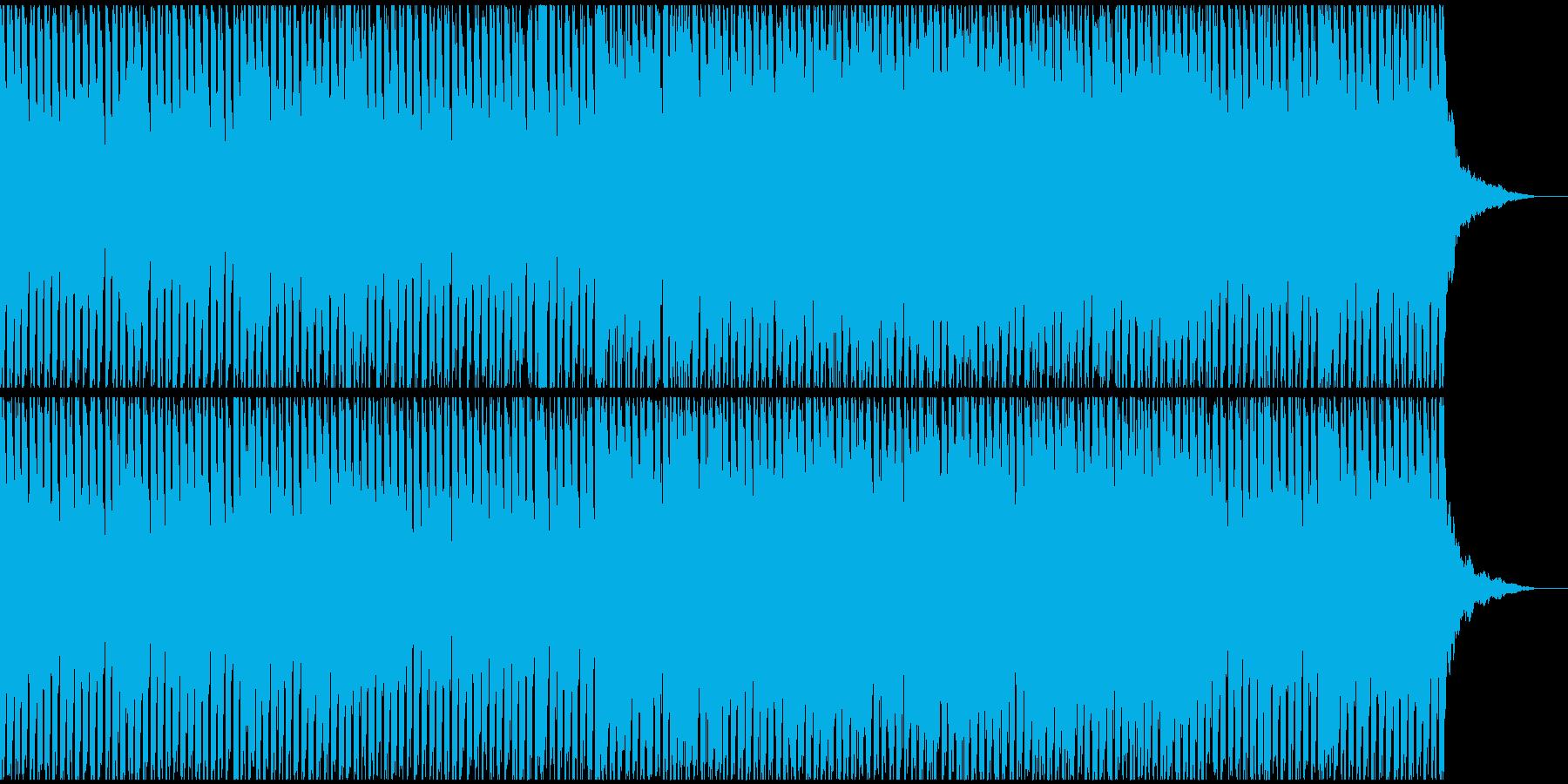 シュールで大人っぽいテクノサウンドの再生済みの波形