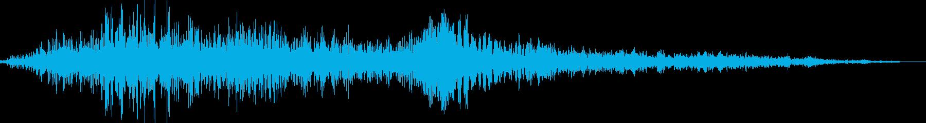 ロボット起動(立ち上がる)の再生済みの波形
