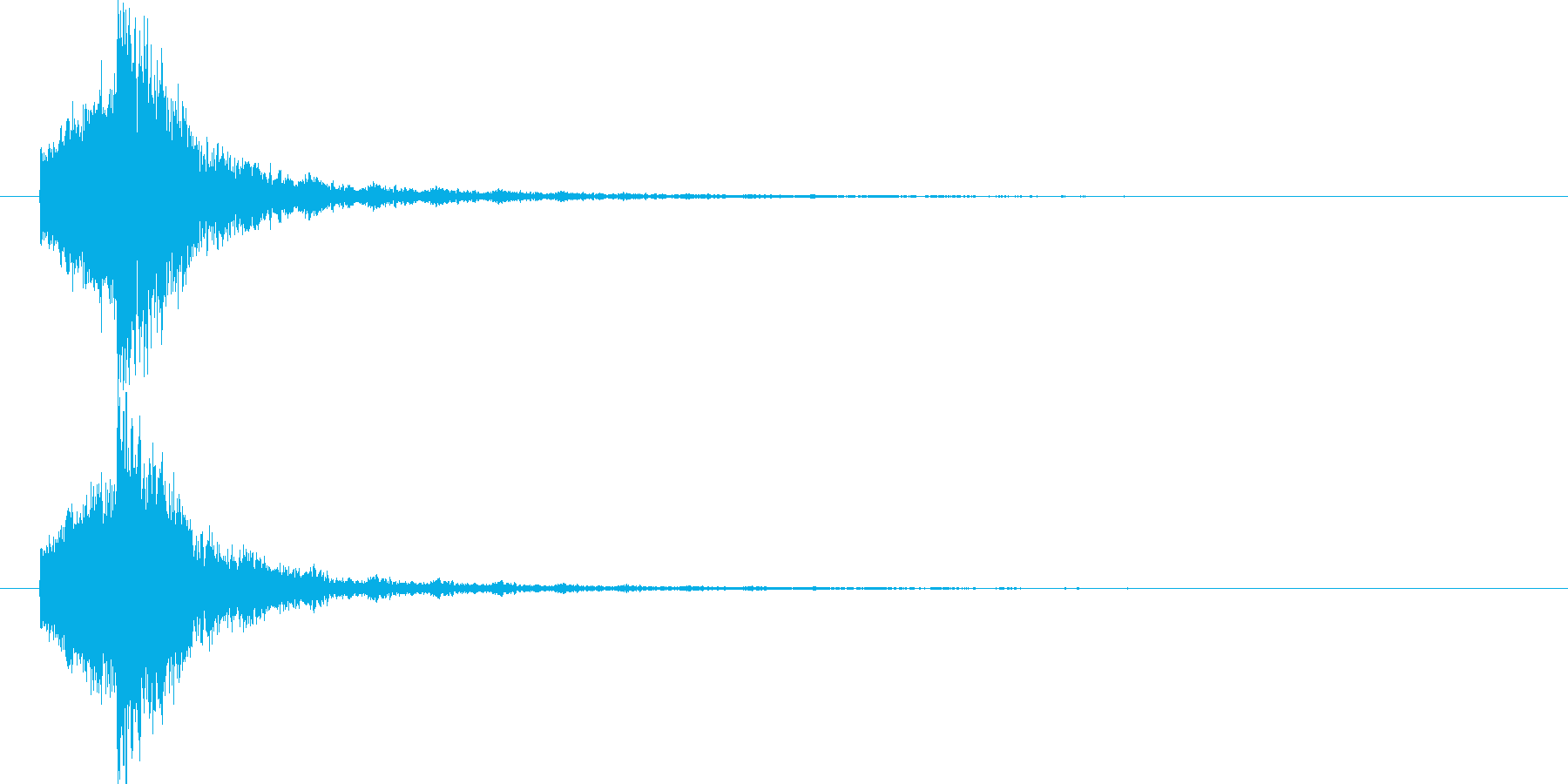 映画告知音140 ドーンの再生済みの波形