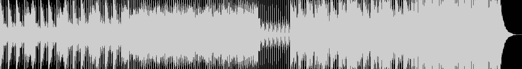 ミニマルなピアノのフレーズが淡々との未再生の波形