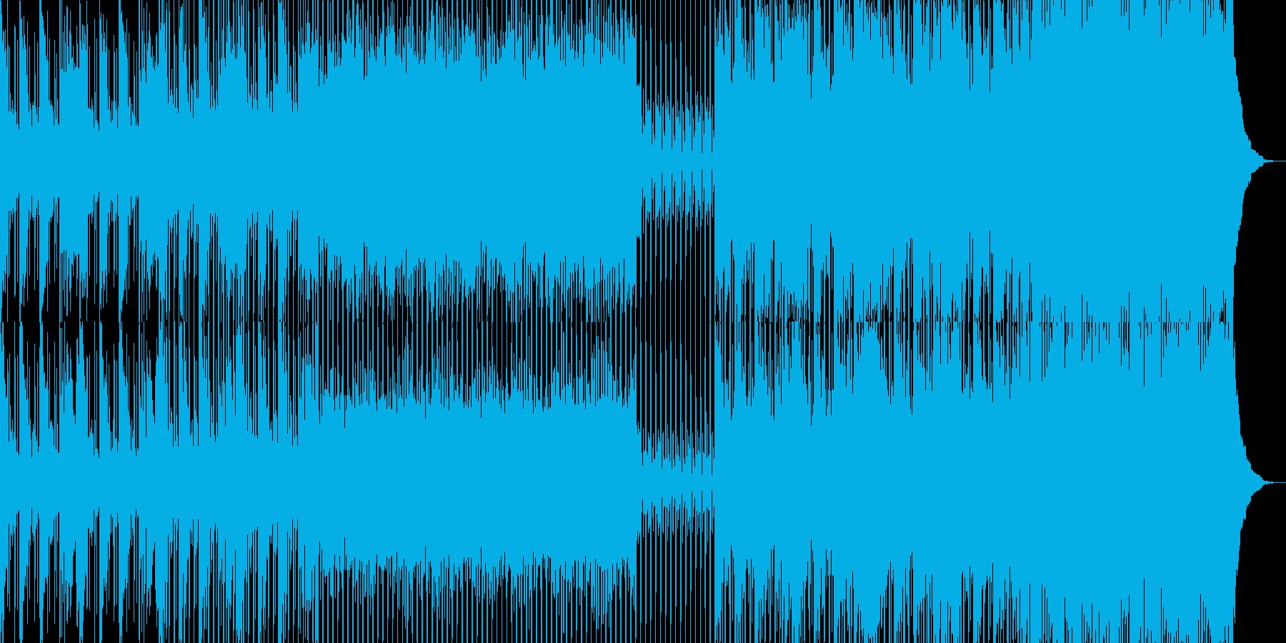 ミニマルなピアノのフレーズが淡々との再生済みの波形