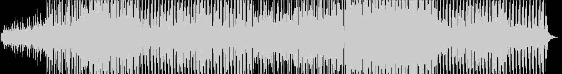 明るくファンキーなエレクトロポップスの未再生の波形