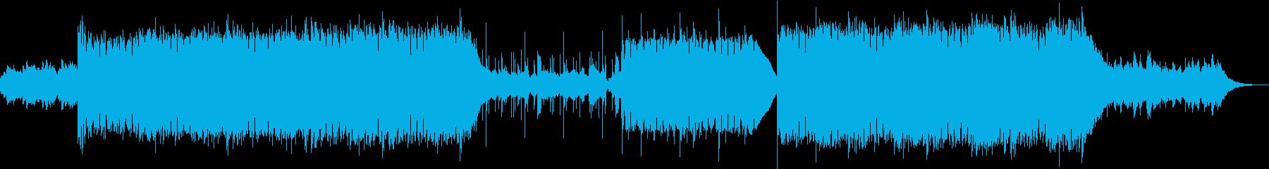幽霊屋敷・恐怖、ホラーなエレクトロニカの再生済みの波形