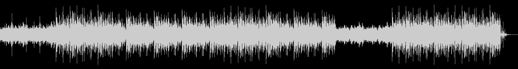 和太鼓のリズムとピアノループをベースに…の未再生の波形