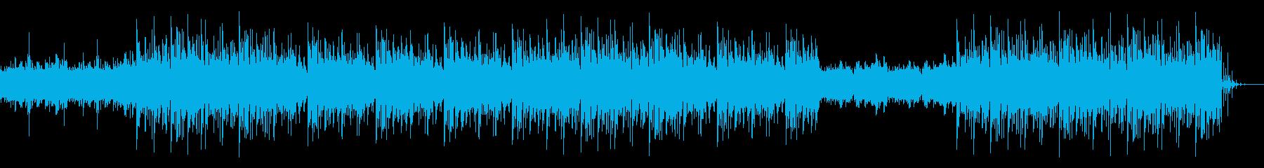 和太鼓のリズムとピアノループをベースに…の再生済みの波形