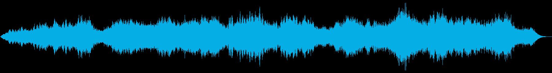 暗い、進化するサウンドスケープで、...の再生済みの波形