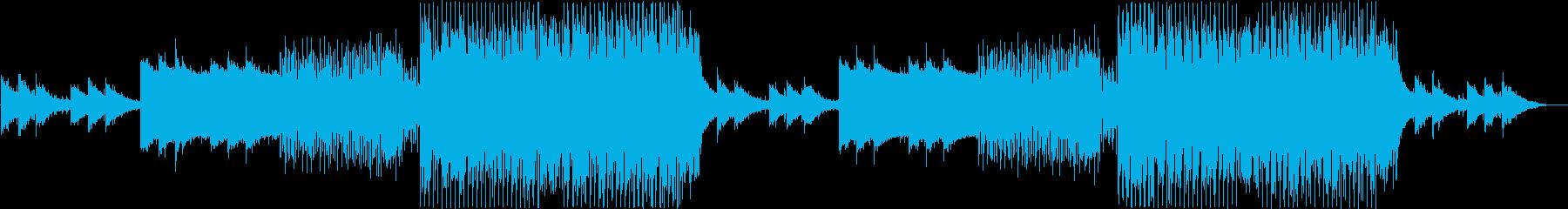 爽やかでクールな洋楽EDMの再生済みの波形