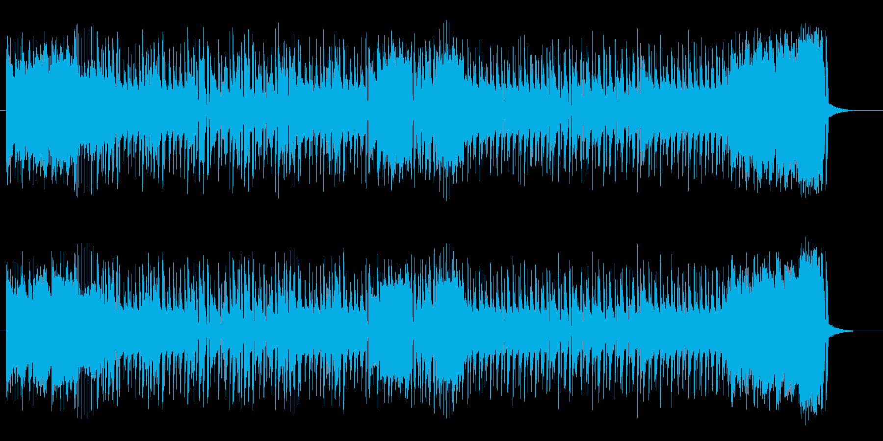 リズミカルなトランペットラテンポップスの再生済みの波形