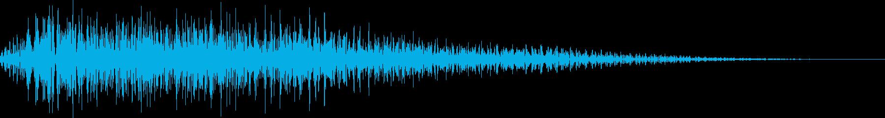 ポロロロン(ハープ 決定 移動)の再生済みの波形