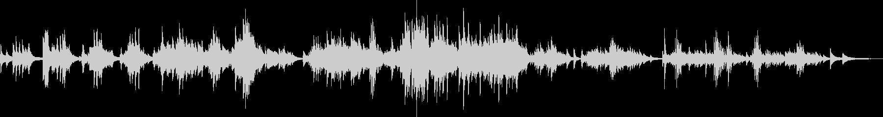 優雅な時間(ピアノ・落ち着く・ゆったり)の未再生の波形