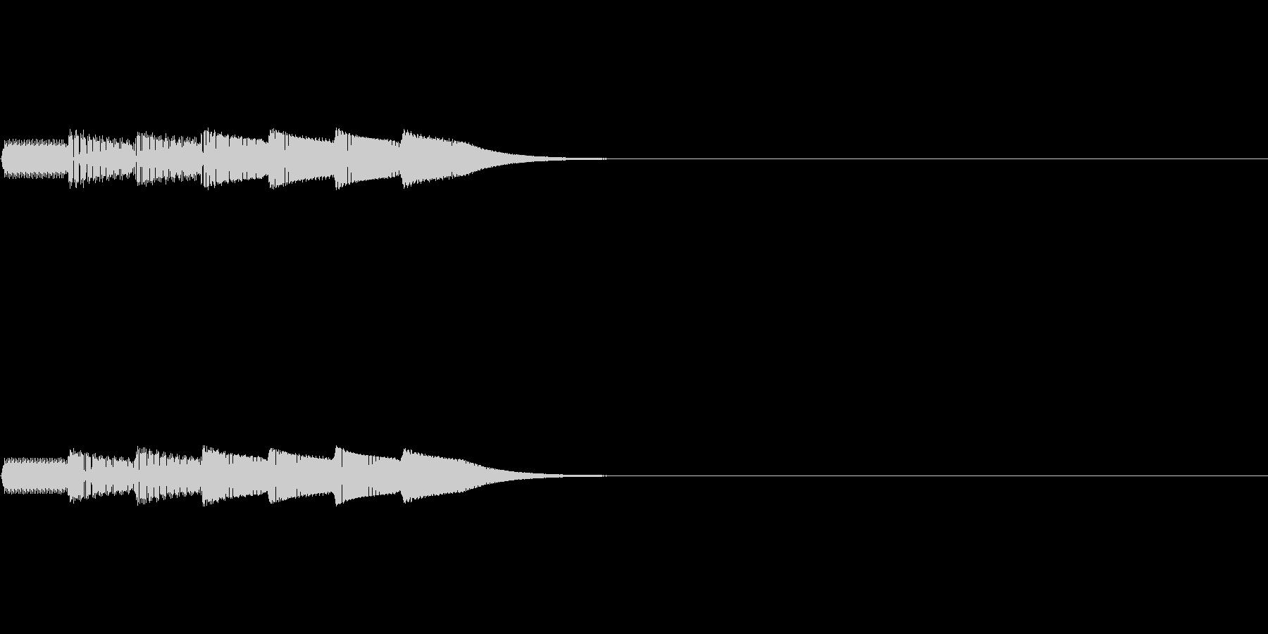 ピコピコロン(ゲーム_ポーズボタン)の未再生の波形