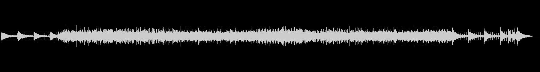 開放感のあるアコギのロック調の未再生の波形