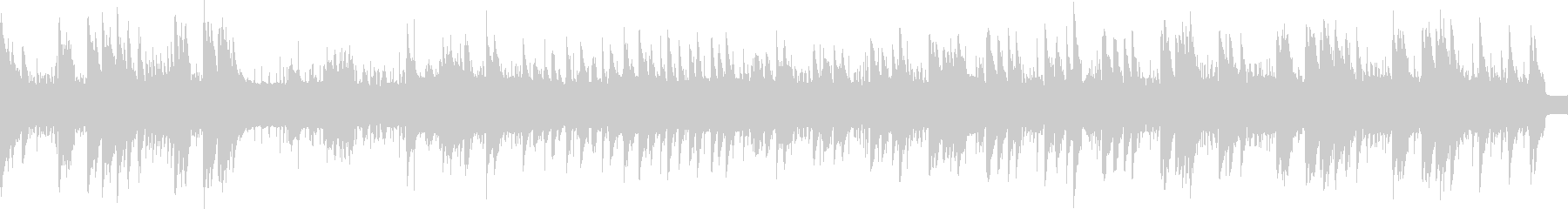 8bitスペースファンタジー 1コーラスの未再生の波形