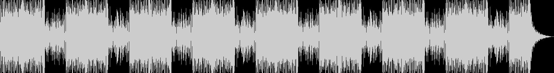 ロングバージョンの未再生の波形