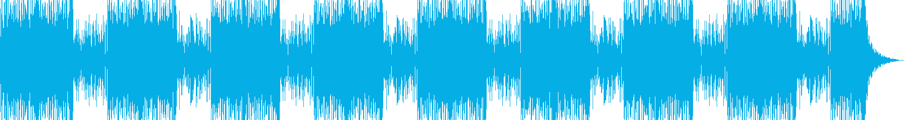 ロングバージョンの再生済みの波形