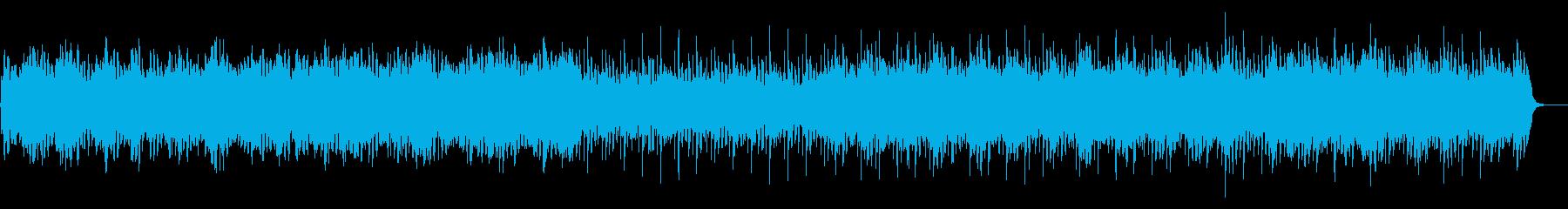森 樹海 秘境 謎の民族 アンビエントの再生済みの波形