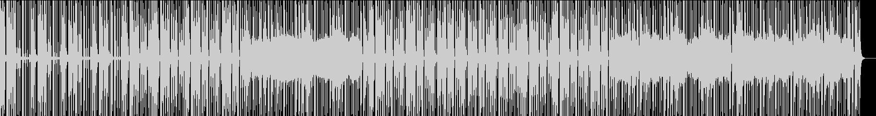 穏やかな青空を感じる電子音楽の未再生の波形