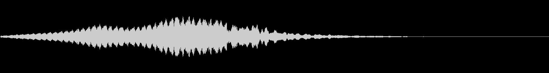 不吉な音の未再生の波形