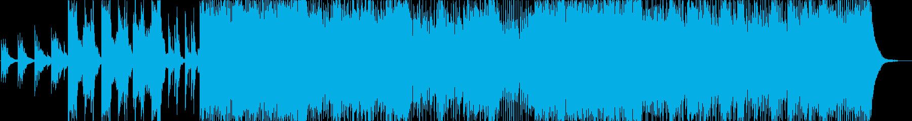 癒し系和風テイストポップの再生済みの波形