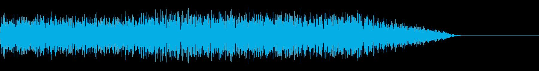 ギシャー!(ホワイトノイズ/爆発/衝撃の再生済みの波形
