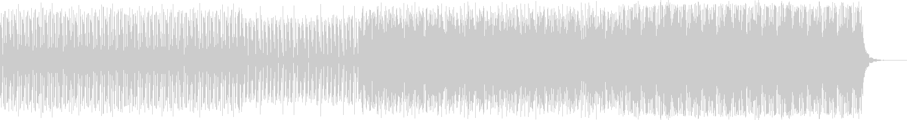 幻想的な映像、CMにピアノエレクトロニカの未再生の波形