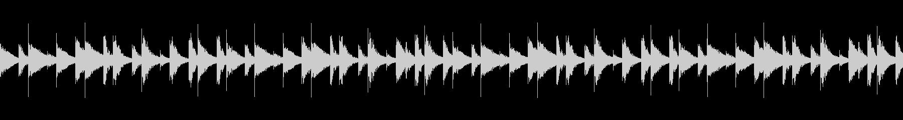 CM 木琴の陽気でテンポの良いBGMの未再生の波形