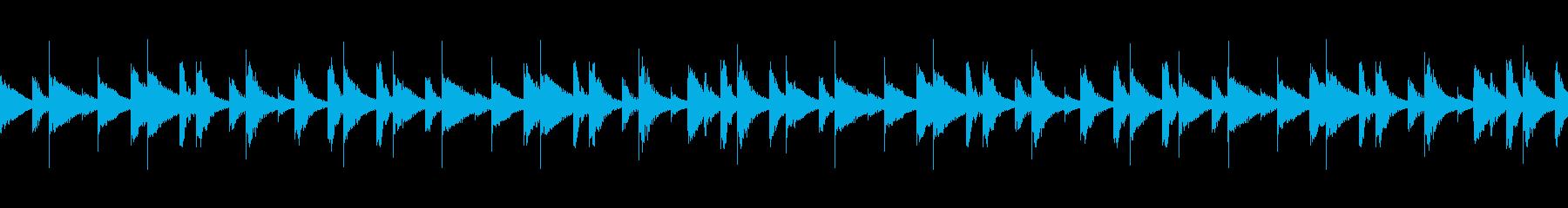 CM 木琴の陽気でテンポの良いBGMの再生済みの波形