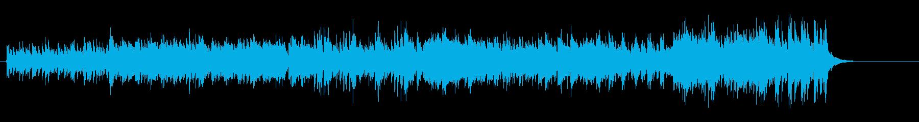 中近東風ワールド・ミュージック系BGMの再生済みの波形
