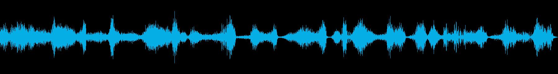 ラジオスキャン3の再生済みの波形