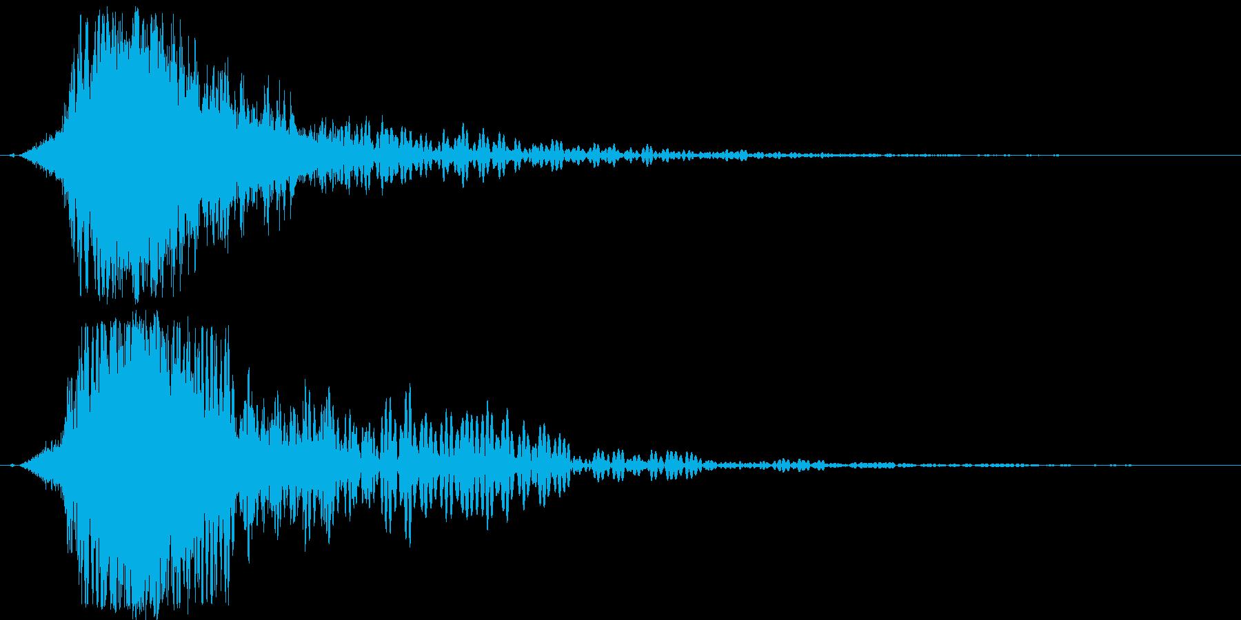 シャキーン!ド派手なインパクトに最適12の再生済みの波形