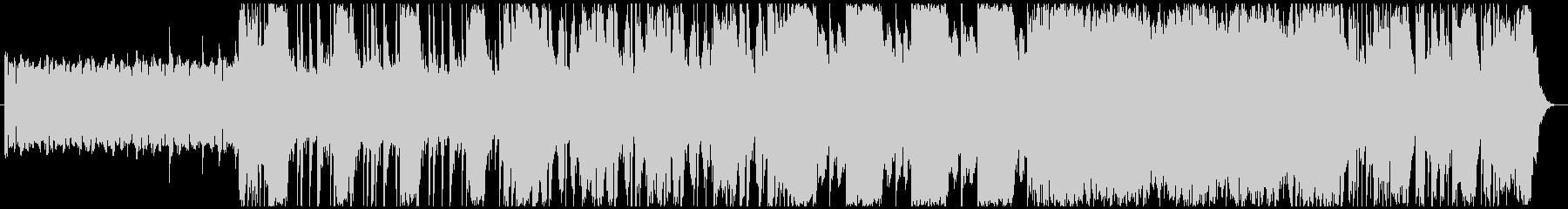 洋画で悪者が登場するシーンの曲-60秒の未再生の波形