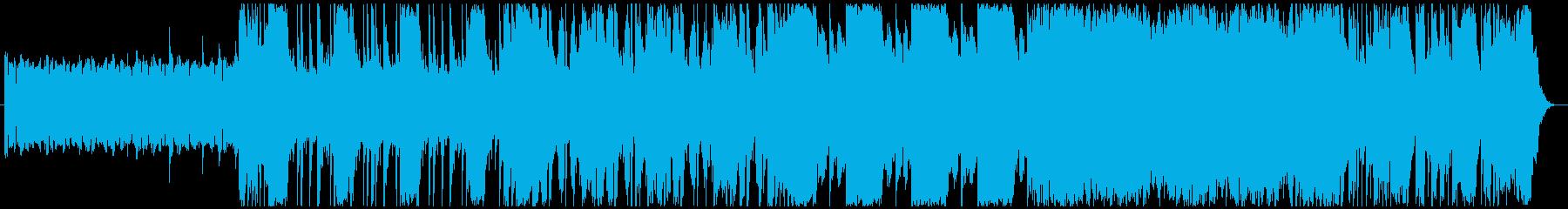 洋画で悪者が登場するシーンの曲-60秒の再生済みの波形