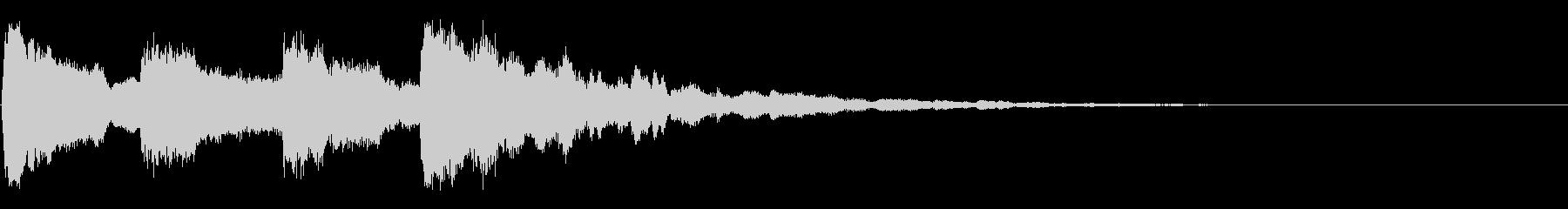 ピンポンパンポン02-2の未再生の波形