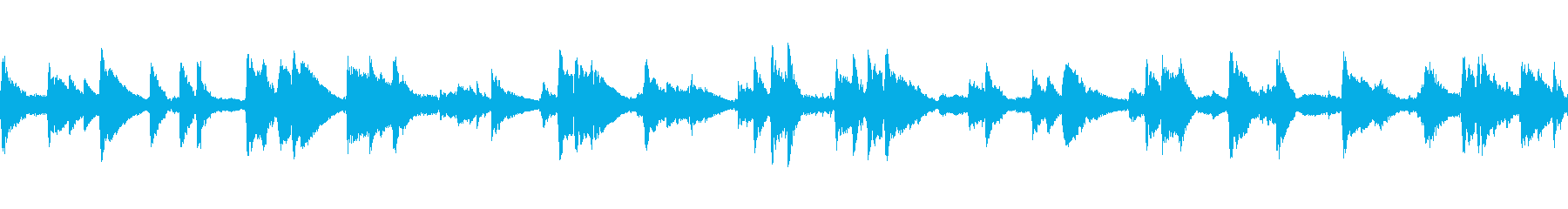非常に遅い、ブルージーなジャズトラ...の再生済みの波形