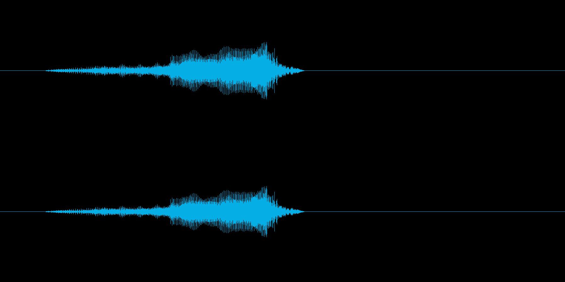 MOO、動物漫画の鳥と動物の再生済みの波形